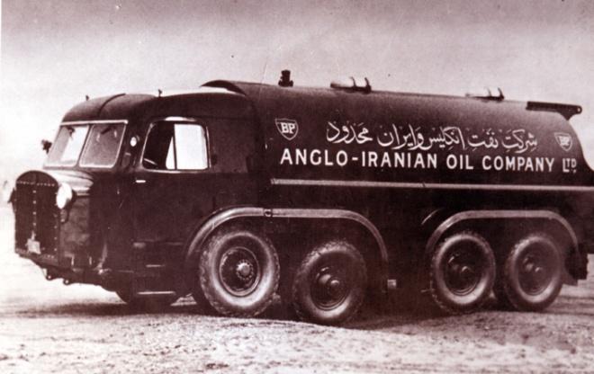 BP truck