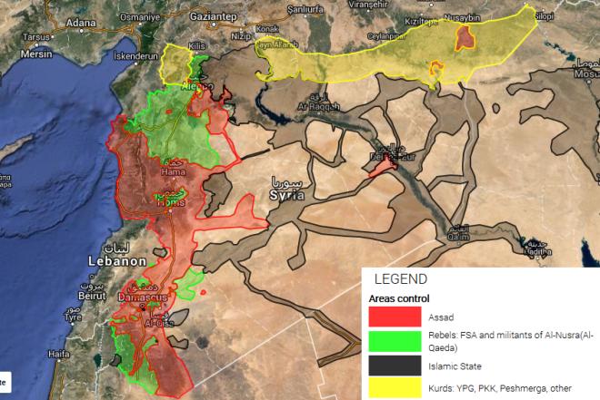 Syrian Civil War 19-2-16