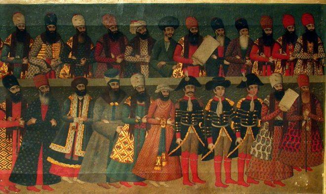 Corte de Fath Ali Shah